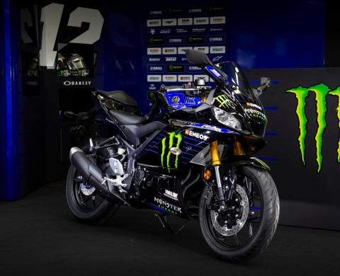 Yamaha YZF-R25 Monster Energy