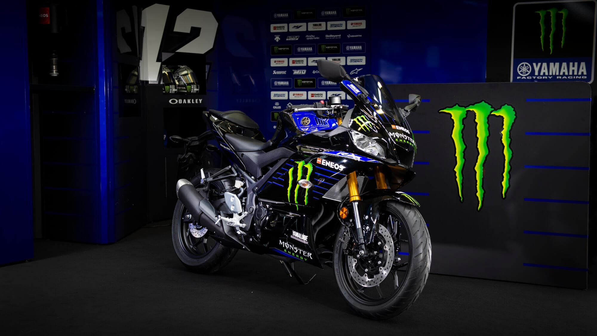 Yamaha YZF-R25 Monster Energy