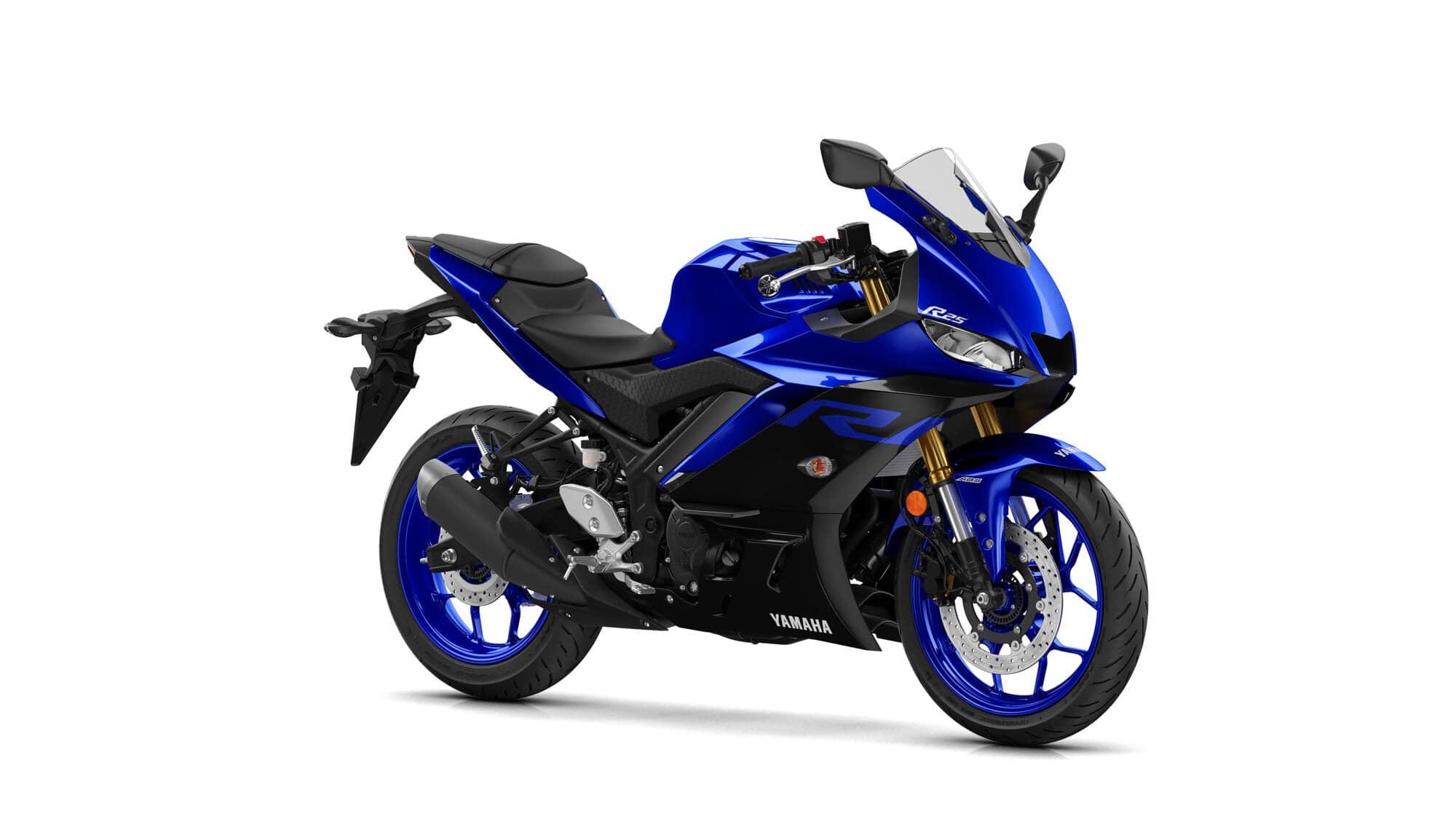 yamaha r25 mavi