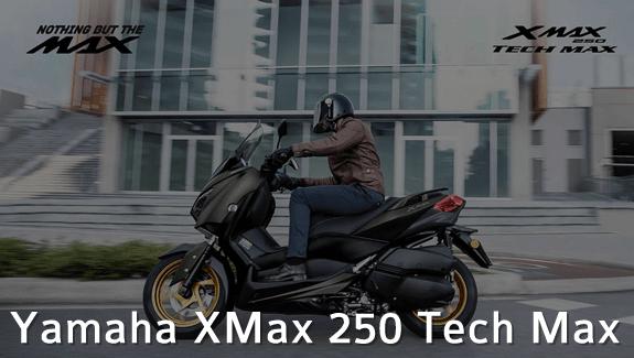 yamaha xmax 250 tech max