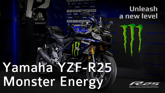 yamaha r25 monster